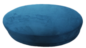 "Image of a 48"" oval ottoman- Teal Furniture"