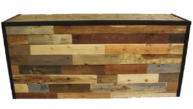 Image of a 8' Reclaimed Wood Bar