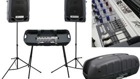 Image of a Peavey Escort Portable Sound System