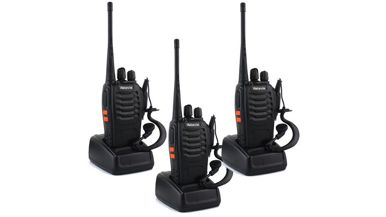 Picture of a Two-Way Radio Set of 3