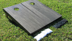 Image of a Cornhole Game Set, ONYX