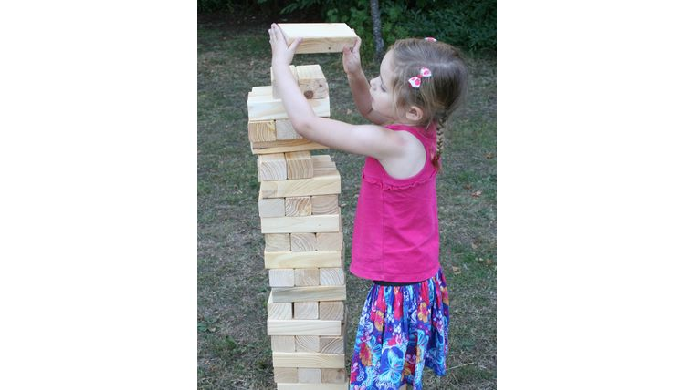 Picture of a Giant Jenga Game Set