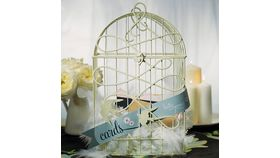 Image of a Card Box, Bird Cage Style