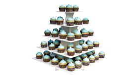 Image of a Cupcake Stand, SQUARE