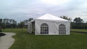 Image of a 30' x 80' Frame Tent