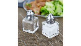 Image of a Salt and Pepper Shaker Set - Silver