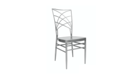 Image of a Empire Chair Silver
