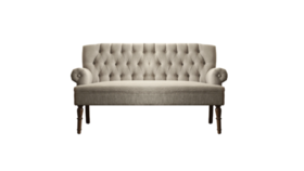 Image of a Dahlia Tufted Settee Beige