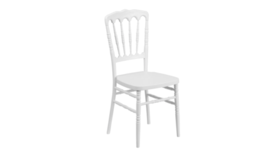 Image of a White Versailles Chair