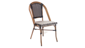 Image of a Bistro Chair Black