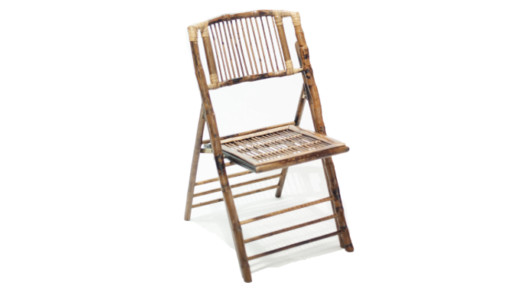 Picture of a Bamboo Folding Chair