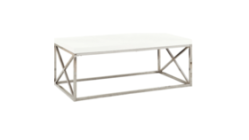 Image of a Abbie Coffee Table White