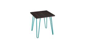 Image of a Aqua Retro Side Table