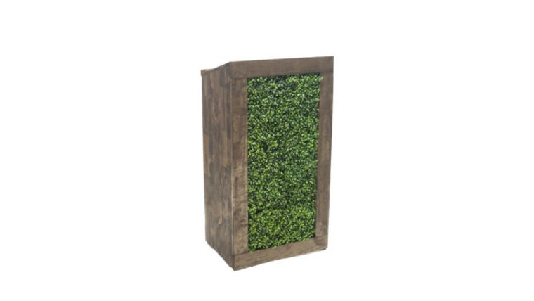 Picture of a Hedge Podium