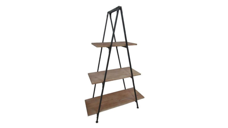 Picture of a A-frame Bookshelf