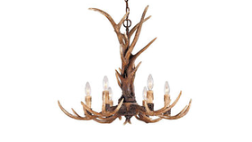 Image of a Antler Chandelier