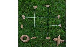 Image of a Lawn Tic Tac Toe
