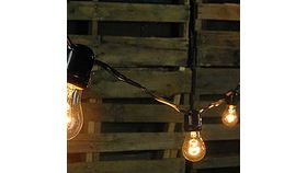 Image of a Commercial String Light