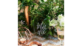 Image of a Acrylic Table Numbers