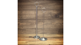 Image of a Table Number Holder (Silver)
