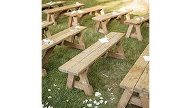 Image of a Custom Wooden Bench