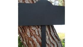 Image of a Small Chalkboard Stake