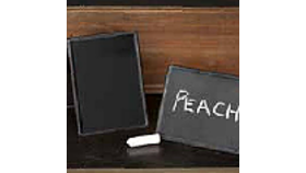 Image of a Mini Chalkboard Signs