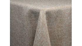 """Image of a 72"""" x 72"""" Faux Burlap Tablecloths"""