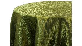 "Image of a 4"" x 108"" Moss Iridescent Crush Sashes"
