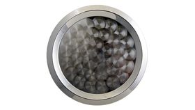 "Image of a 15"" Round Stainless Steel Tray"