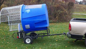 Image of a Dunk Tank w/ Trailer