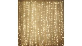 Image of a LED Light Curtain w/ Adjustable Settings- 9'x9'