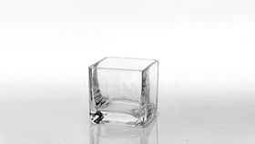 "Image of a 3""x3"" Square Glass Vases"