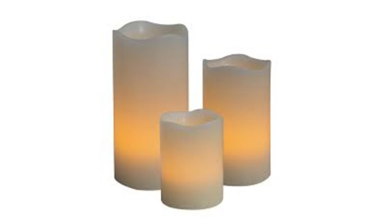"""Picture of a 12"""" LED Pillar Candles"""