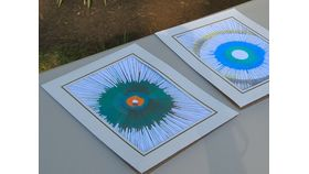 Image of a Additional Spin Art Frames and Cards