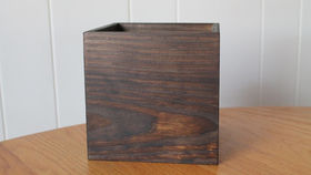 Image of a Mahogany Wood Box