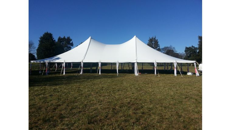 Picture of a 60' x 100' Pole Tent