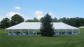 Image of a 40' x 100' Frame Tent Only