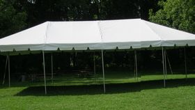 Image of a 20'X40' Frame Tent (Only)