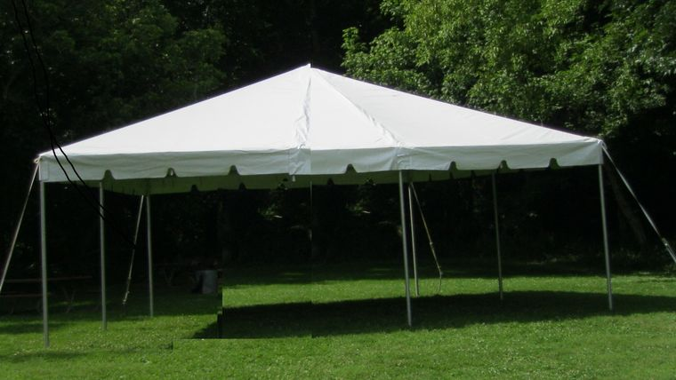 Picture of a 20'X20' Frame Tent (Only)