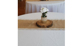 Image of a Burlap Table Runner