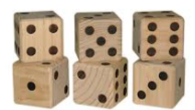 Image of a Wooden Dice
