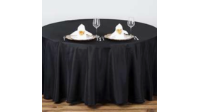 "Image of a 108"" Round Tablecloth"