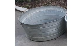 Image of a Medium Metal Tub