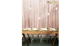 Image of a Blush Backdrop Cloth