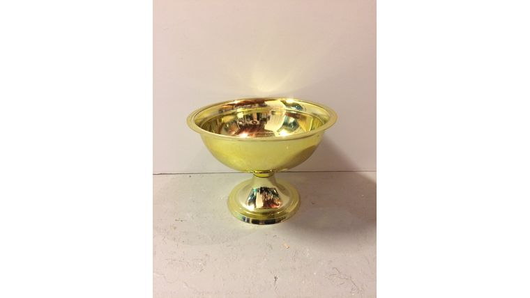 Picture of a Large Gold Bowl