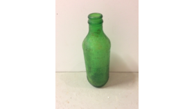 Image of a Vintage Green Bottle
