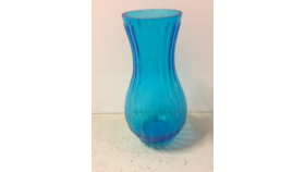 Image of a Aqua Blue Vase