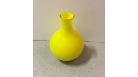 Image of a Yellow Vase