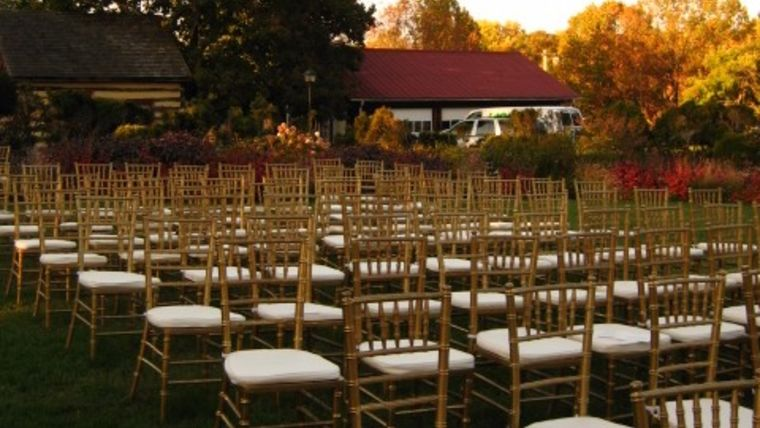 Event Rental Gallery image from the Wedding Ceremony Inspiration & Looks gallery. By A Grand Event